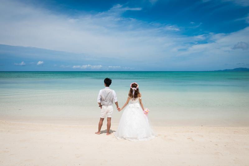 Amazing Blue Photo Wedding