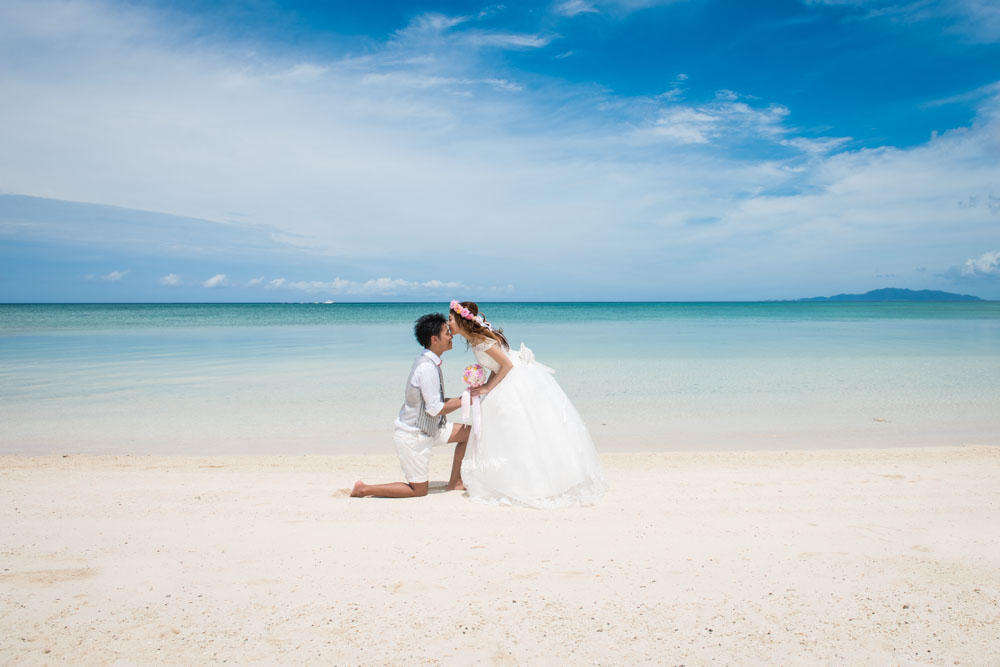 Amazing Blue Photo Wedding